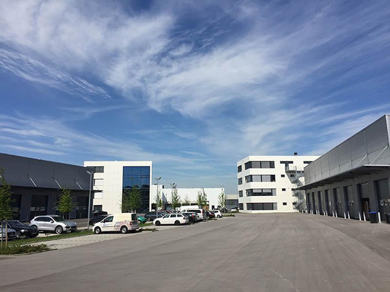 Firmengelände expo24seven GmbH in Inning am Ammersee