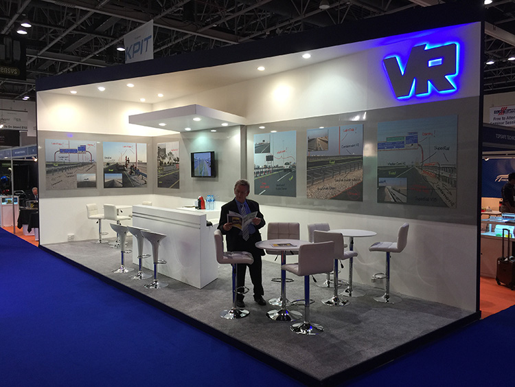 messestand gulf traffic dubai Volkmann Rossbach