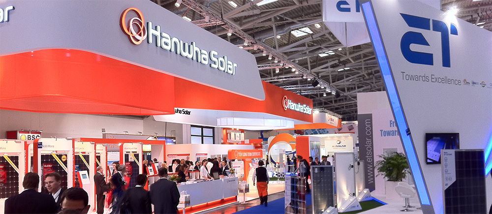 Intersolar Europe in Munich Germany