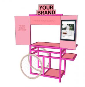kleiner mobiler Verkaufsstand individuell für jedes Produkt geeignet