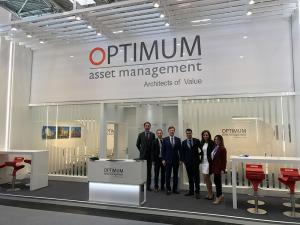 nice exhibition stand Optimum Expo Real