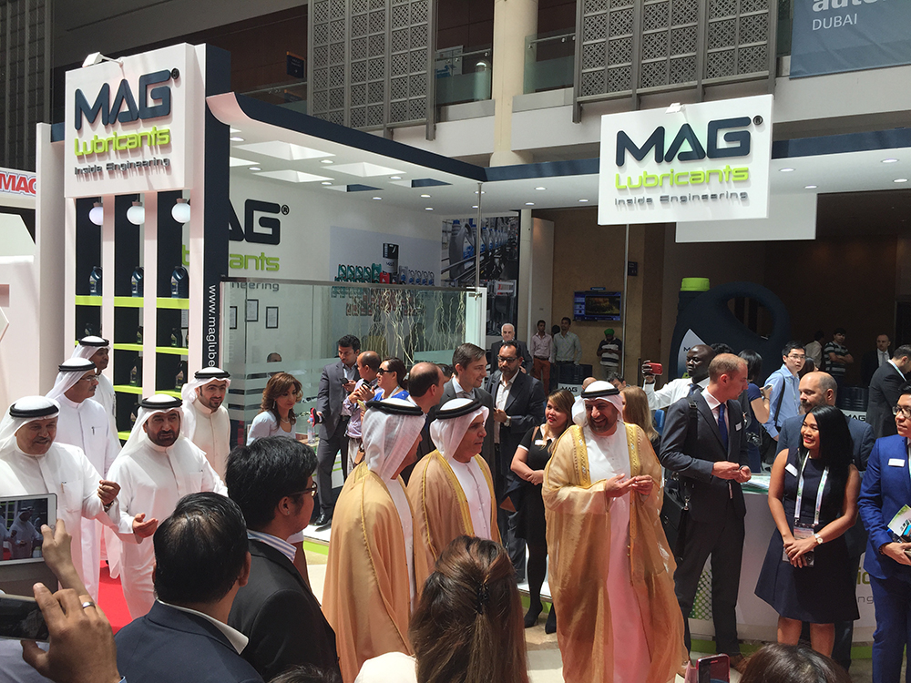 Royal visit at Automechanika Dubai