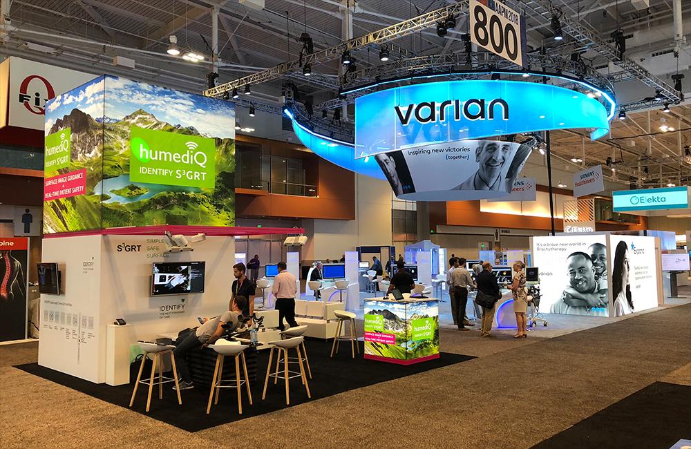 USA stand standbuilder exhibition service russian